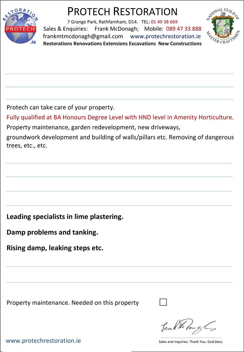 protech house restoration flyer 1